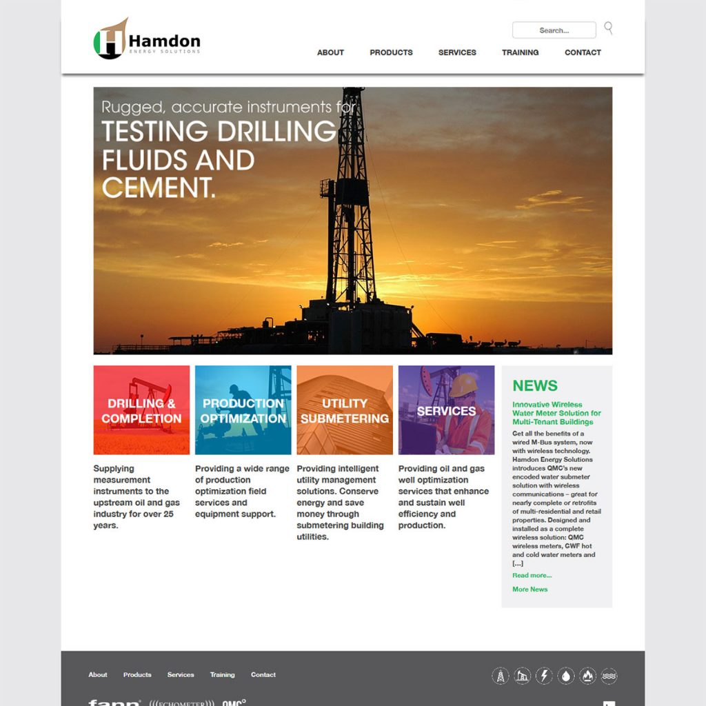 Hamdon Energy Solutions Website
