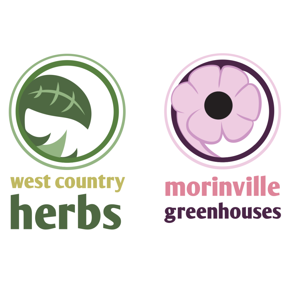 Morinville Greenhouse & West Country Herbs Logos