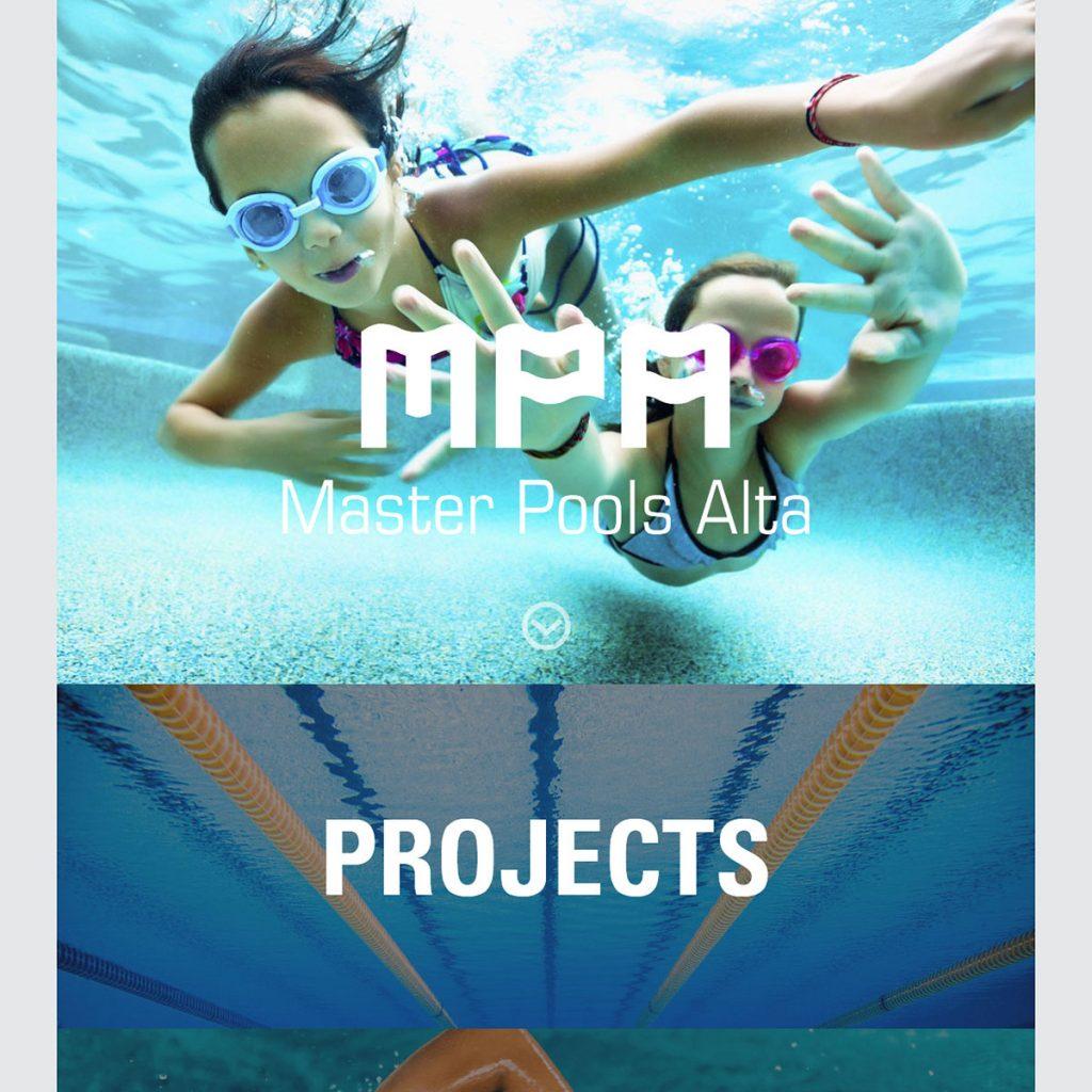 Master Pools Alta Website