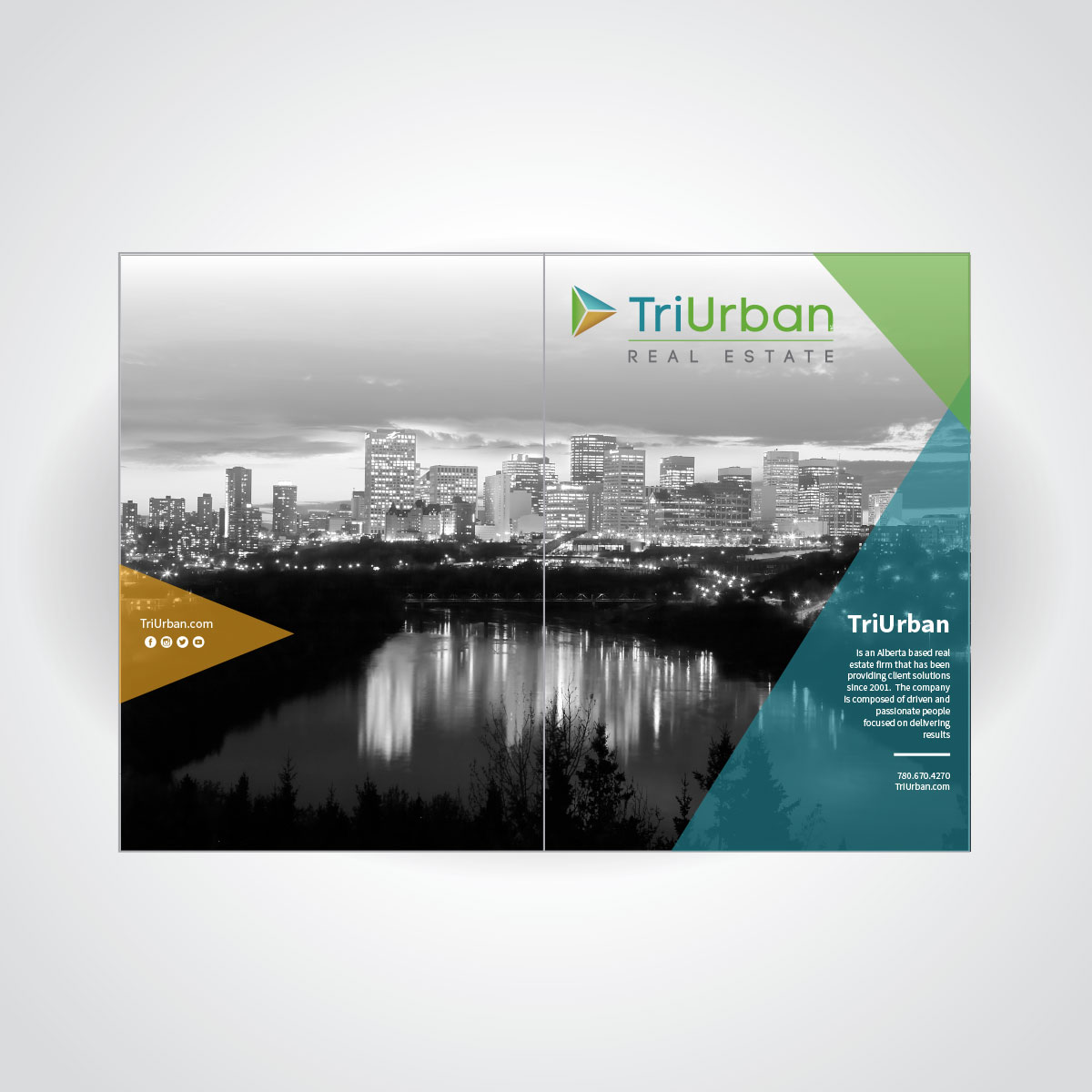TriUrban Real Estate Folder Design Exterior