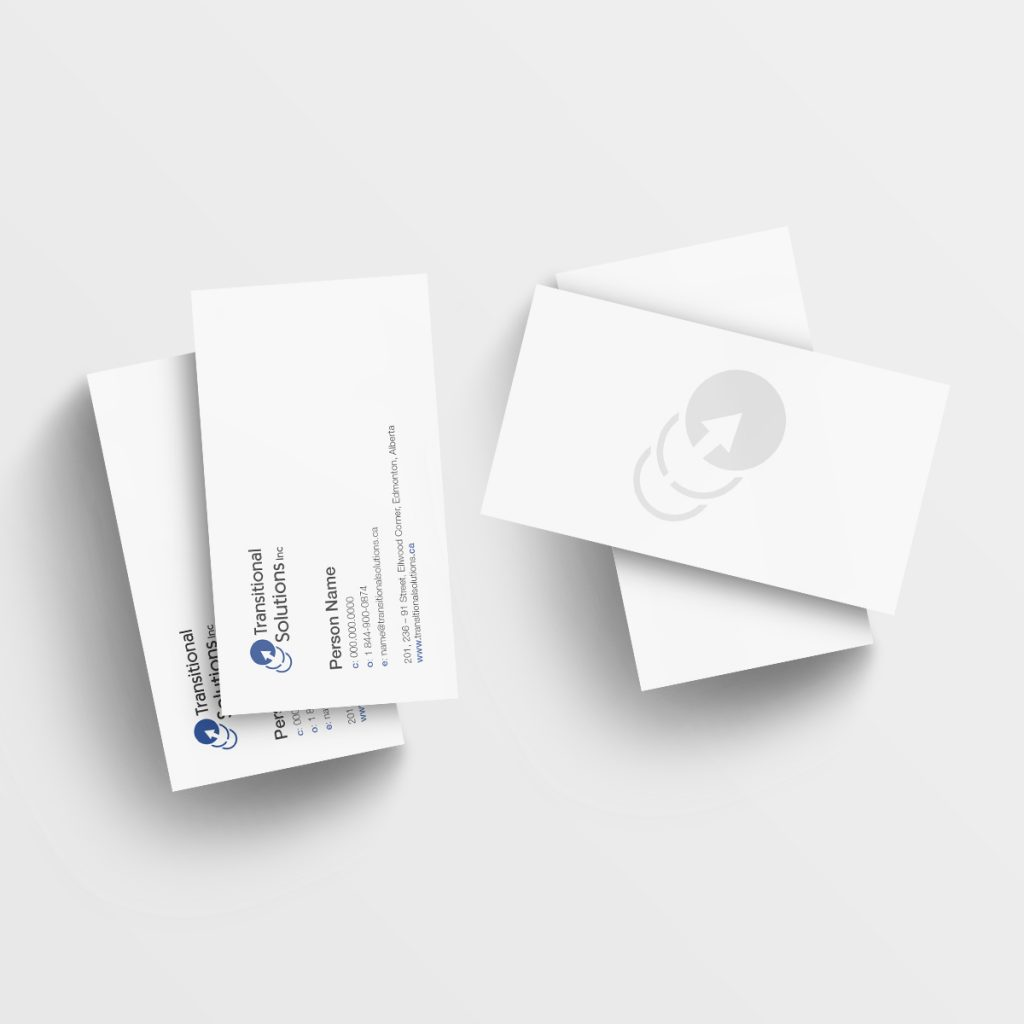 Transitional Solutions Business Cards